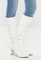 Superbalist - Nicole knee-high boot - white