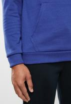 Under Armour - Rival sportstyle logo hoodie - blue