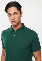 Pringle of Scotland - St augustine short sleeve styled sps - green