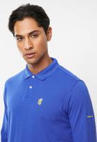 Pringle of Scotland - St augustine long sleeve styled sps - blue