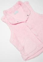 JEEP - Teddy gilet - pink