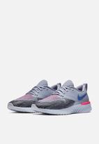 Nike - Odyssey React 2 Flyknit - indigo haze / sapphire-black-iron purple