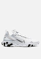 Nike - React Element 55 - white / black