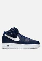 Nike - Air Force 1 mid '07 AN20 - midnight navy & white