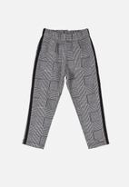 UP Baby - Baby check leggings - grey