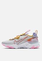 Nike - React Vision - pure platinum / rust factor / light thistle