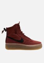 Nike - Air Force 1 Shell - dark pony / burgundy ash-desert dust