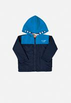 UP Baby - Boys hooded jacket - blue
