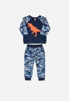 UP Baby - Printed sweatshirt & pants set - blue