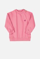 UP Baby - Baby sweatshirt - pink