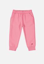UP Baby - Baby girls sweatpants - pink