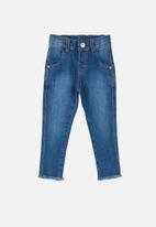 UP Baby - Baby girls jean - blue