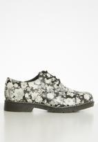 Footwork - Janni shoe derby - black & white