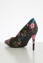 Miss Black - Aboliska heel - multi