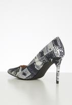 Miss Black - Acida heel - black & white