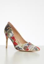 Miss Black - Acida heel - red