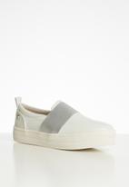 Miss Black - Abbery flatform sneaker - white