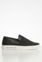 POLO - Giselle elastic slip on - black