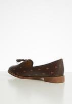POLO - Camelia monogram tassel loafer - brown