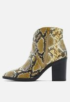 Call It Spring - Cecily boot - multi