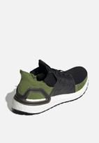 adidas - UltraBOOST 19 - core black / tech olive