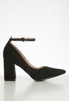 Superbalist - Camilla block court heel - black