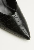 Superbalist - Lynne slingback heel - black