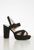 Superbalist - Lauren platform heel - black