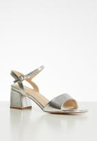Superbalist - Gea barely-there heel - silver