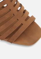 Call It Spring - Viscaria heel - brown