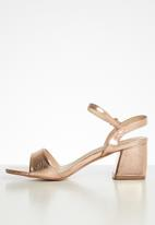 Superbalist - Gea barely-there heel - rose gold