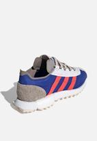 adidas Originals - SL Workshop - grey two / hi-res red / team royal blue