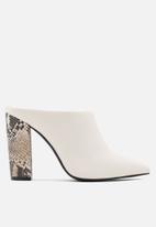 Call It Spring - Trupps heel - white
