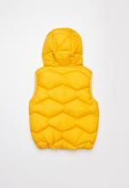 POP CANDY - Boys puffer vest - yellow