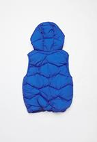 POP CANDY - Boys puffer vest - blue
