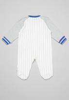 POP CANDY - Baby baseball  long sleeve grow-on - grey & red