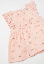 POP CANDY - Baby cherry print dress - pink