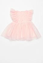 POP CANDY - Baby girl dress - pink