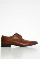 POLO - Alec leather formal shoe - brown