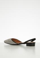 Dolce Vita - Attraction slingback pump - black & silver