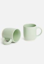 Sixth Floor - Ashen mug set of 4 - duck egg