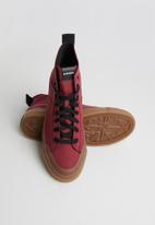 Diesel  - S-astico mid lace - rumba red