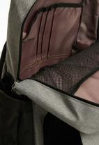POP CANDY - Nappy bag - black & grey