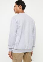 Quiksilver - Comp logo screen sweatshirt - grey