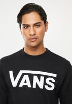 Vans - Vans classic crew sweater - black & white