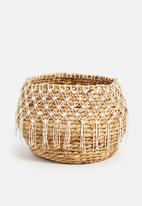 Sixth Floor - Crochet belly basket - natural