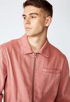 Factorie - Harrington jacket - dirty mauve