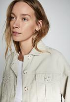 Cotton On - Button cord shacket - natural