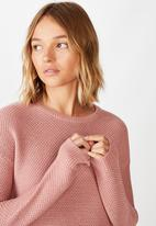 Cotton On - Archy 7 pullover - old rose