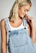 Cotton On - Denim pinafore - Boston blue